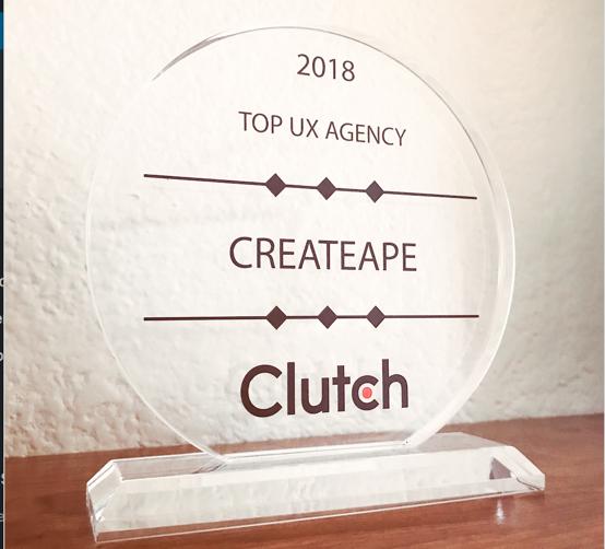 Clutch Ranks Createape 1 Ux Design Agency In Orange County Createape